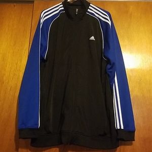 Adidas zip up jacket XL